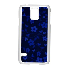 Floral Pattern Samsung Galaxy S5 Case (white) by Valentinaart