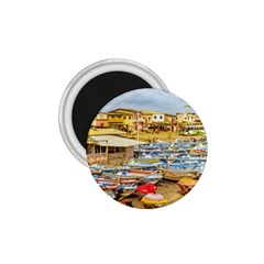 Engabao Beach At Guayas District Ecuador 1 75  Magnets by dflcprints