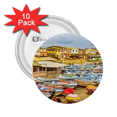 Engabao Beach At Guayas District Ecuador 2 25  Buttons (10 Pack)  by dflcprints