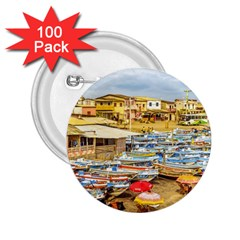Engabao Beach At Guayas District Ecuador 2 25  Buttons (100 Pack)  by dflcprints