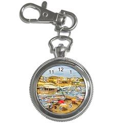 Engabao Beach At Guayas District Ecuador Key Chain Watches by dflcprints