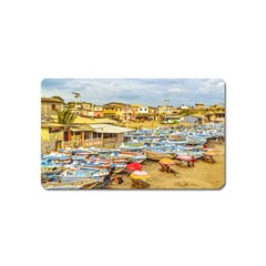 Engabao Beach At Guayas District Ecuador Magnet (name Card) by dflcprints