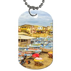 Engabao Beach At Guayas District Ecuador Dog Tag (two Sides) by dflcprints