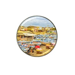 Engabao Beach At Guayas District Ecuador Hat Clip Ball Marker by dflcprints