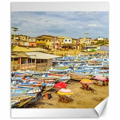 Engabao Beach At Guayas District Ecuador Canvas 20  X 24   by dflcprints
