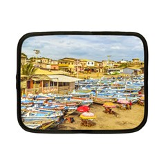 Engabao Beach At Guayas District Ecuador Netbook Case (small)  by dflcprints