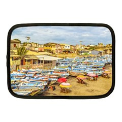 Engabao Beach At Guayas District Ecuador Netbook Case (medium)  by dflcprints