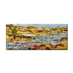 Engabao Beach At Guayas District Ecuador Cosmetic Storage Cases by dflcprints