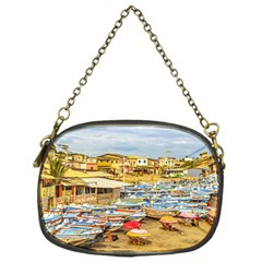 Engabao Beach At Guayas District Ecuador Chain Purses (one Side)  by dflcprints