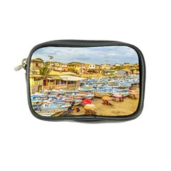 Engabao Beach At Guayas District Ecuador Coin Purse by dflcprints