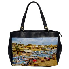 Engabao Beach At Guayas District Ecuador Office Handbags by dflcprints