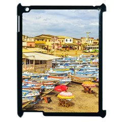 Engabao Beach At Guayas District Ecuador Apple Ipad 2 Case (black) by dflcprints