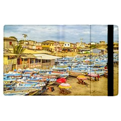 Engabao Beach At Guayas District Ecuador Apple Ipad 3/4 Flip Case by dflcprints