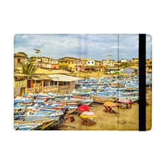Engabao Beach At Guayas District Ecuador Apple Ipad Mini Flip Case by dflcprints