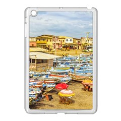 Engabao Beach At Guayas District Ecuador Apple Ipad Mini Case (white) by dflcprints