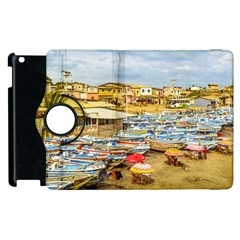 Engabao Beach At Guayas District Ecuador Apple Ipad 3/4 Flip 360 Case by dflcprints