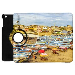 Engabao Beach At Guayas District Ecuador Apple Ipad Mini Flip 360 Case by dflcprints