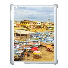 Engabao Beach At Guayas District Ecuador Apple Ipad 3/4 Case (white) by dflcprints
