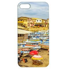 Engabao Beach At Guayas District Ecuador Apple Iphone 5 Hardshell Case With Stand by dflcprints