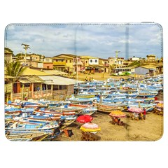 Engabao Beach At Guayas District Ecuador Samsung Galaxy Tab 7  P1000 Flip Case by dflcprints