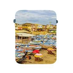 Engabao Beach At Guayas District Ecuador Apple Ipad 2/3/4 Protective Soft Cases by dflcprints