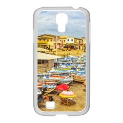 Engabao Beach At Guayas District Ecuador Samsung Galaxy S4 I9500/ I9505 Case (white) by dflcprints