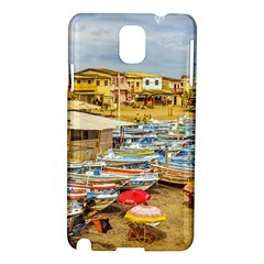 Engabao Beach At Guayas District Ecuador Samsung Galaxy Note 3 N9005 Hardshell Case by dflcprints