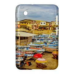 Engabao Beach At Guayas District Ecuador Samsung Galaxy Tab 2 (7 ) P3100 Hardshell Case  by dflcprints