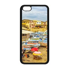 Engabao Beach At Guayas District Ecuador Apple Iphone 5c Seamless Case (black) by dflcprints