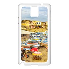 Engabao Beach At Guayas District Ecuador Samsung Galaxy Note 3 N9005 Case (white) by dflcprints