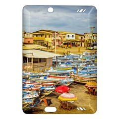 Engabao Beach At Guayas District Ecuador Amazon Kindle Fire Hd (2013) Hardshell Case by dflcprints