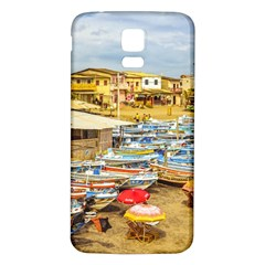 Engabao Beach At Guayas District Ecuador Samsung Galaxy S5 Back Case (White) by dflcprints