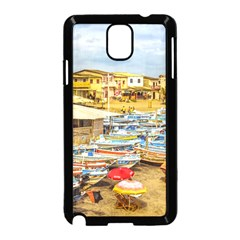 Engabao Beach At Guayas District Ecuador Samsung Galaxy Note 3 Neo Hardshell Case (black) by dflcprints
