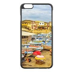 Engabao Beach At Guayas District Ecuador Apple iPhone 6 Plus/6S Plus Black Enamel Case by dflcprints