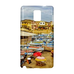 Engabao Beach At Guayas District Ecuador Samsung Galaxy Note 4 Hardshell Case by dflcprints