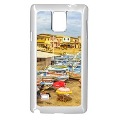 Engabao Beach At Guayas District Ecuador Samsung Galaxy Note 4 Case (white)