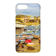 Engabao Beach At Guayas District Ecuador Apple Iphone 7 Plus Hardshell Case by dflcprints