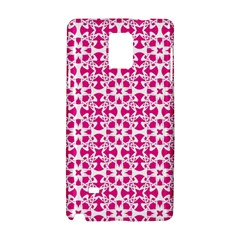 Pattern Samsung Galaxy Note 4 Hardshell Case by Valentinaart