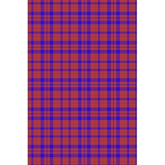 Pattern Plaid Geometric Red Blue 5 5  X 8 5  Notebooks by Simbadda