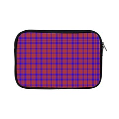 Pattern Plaid Geometric Red Blue Apple Ipad Mini Zipper Cases by Simbadda
