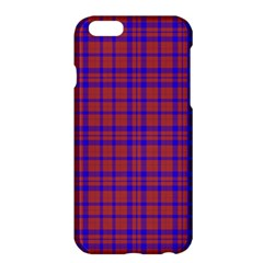 Pattern Plaid Geometric Red Blue Apple Iphone 6 Plus/6s Plus Hardshell Case by Simbadda