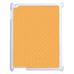 Pattern Apple Ipad 2 Case (white) by Valentinaart