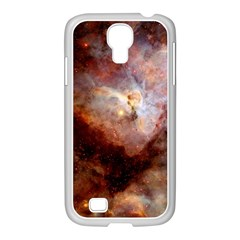 Carina Nebula Samsung Galaxy S4 I9500/ I9505 Case (white) by SpaceShop