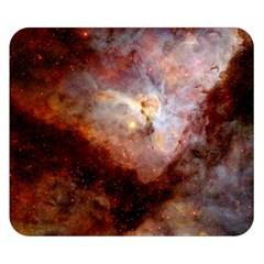 Carina Nebula Double Sided Flano Blanket (small)  by SpaceShop