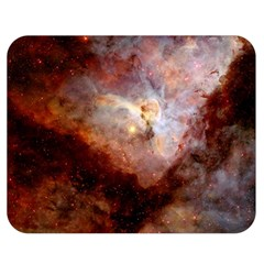 Carina Nebula Double Sided Flano Blanket (medium)  by SpaceShop