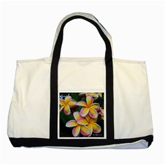 Premier Mix Flower Two Tone Tote Bag by alohaA