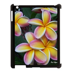 Premier Mix Flower Apple Ipad 3/4 Case (black) by alohaA