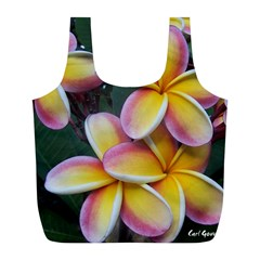 Premier Mix Flower Full Print Recycle Bags (l)  by alohaA