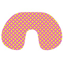 Pattern Travel Neck Pillows by Valentinaart