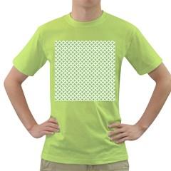 Pattern Green T Shirt by Valentinaart